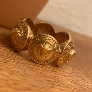 Versace Tribute Medusa Ring size 17